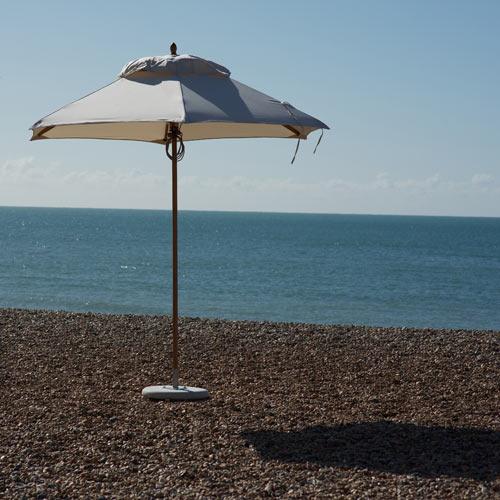 Tradewinds Classic 2.6m Hexagonal Parasol beach