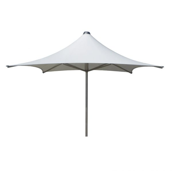 Vortex Rectangular Storm Parasol Rectangular White
