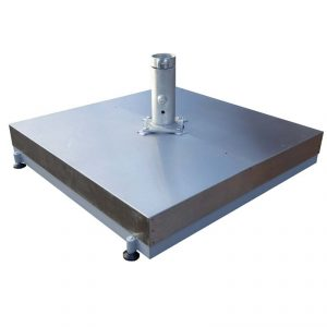 Shademaker Base Frame with Slabs & Stainless Steel Cover