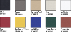 Bambrella Spuncrylic Colour Options