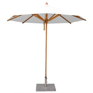 Bambrella Levante Round parasol 2.5m